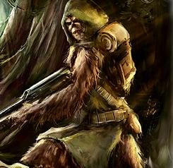 Wookie Commando