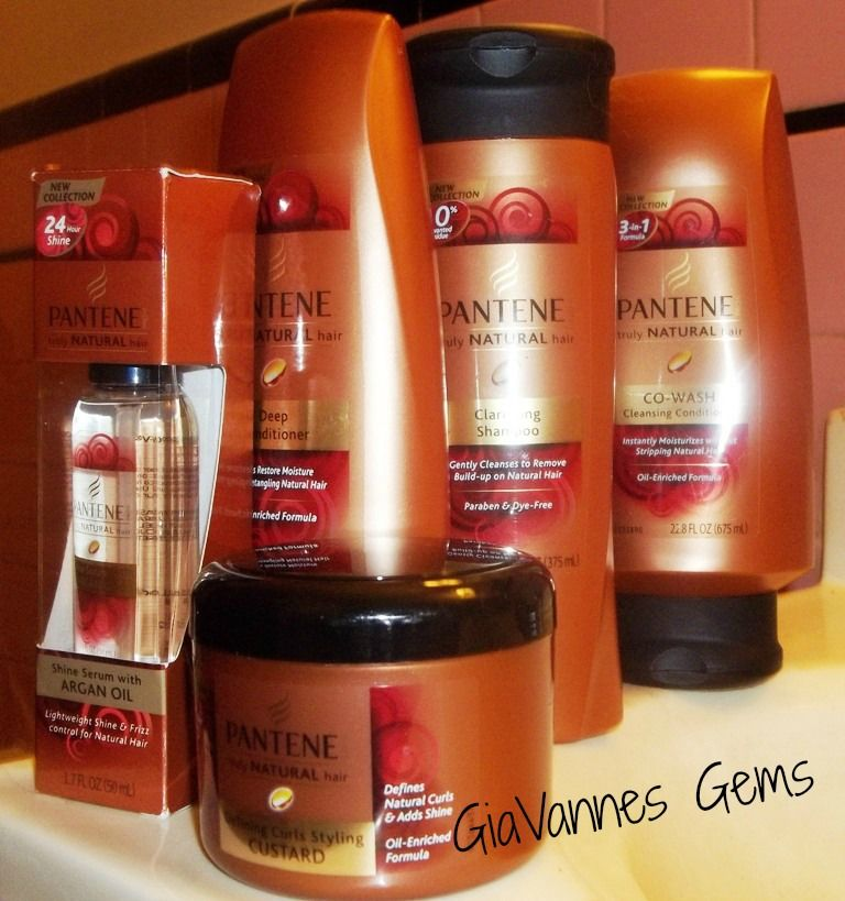 Pantene truly natural hair collection review natural