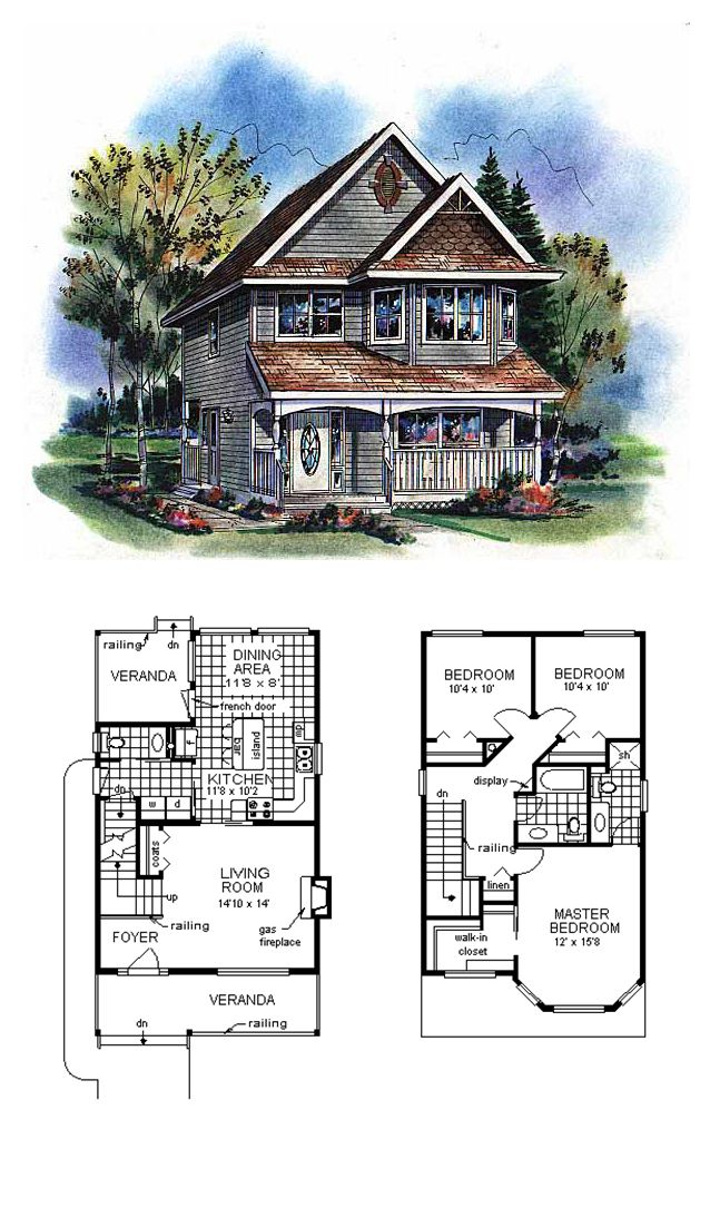 Victorian Style House Plan 98856 With 3 Bed 3 Bath Victorian House Plans Sims House Plans House Plans