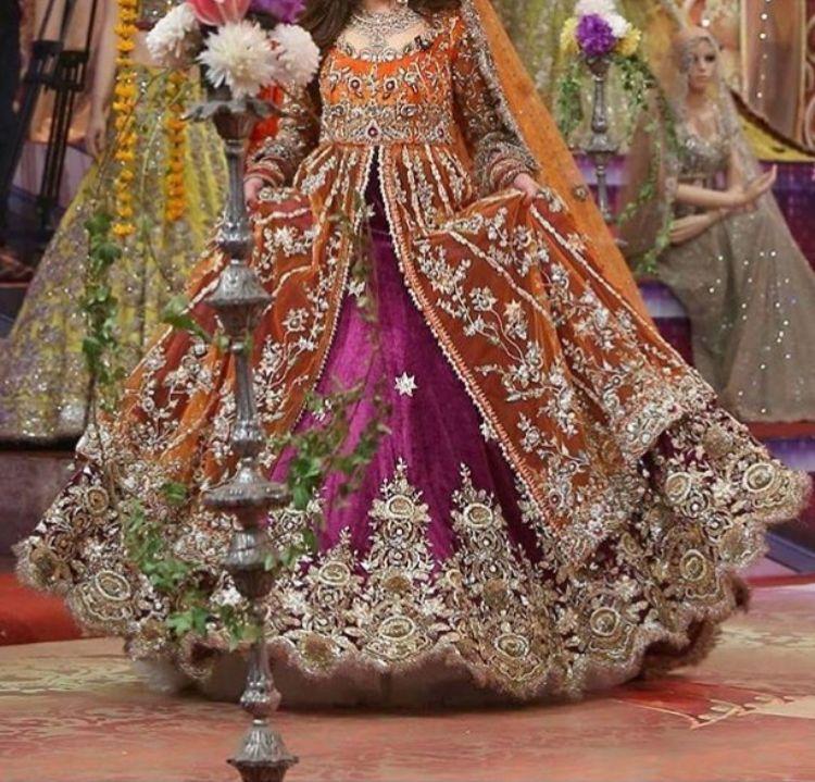 Mehndi Wear Indian Bridal Dress Bridal Mehndi Dresses Pakistani Bridal Couture