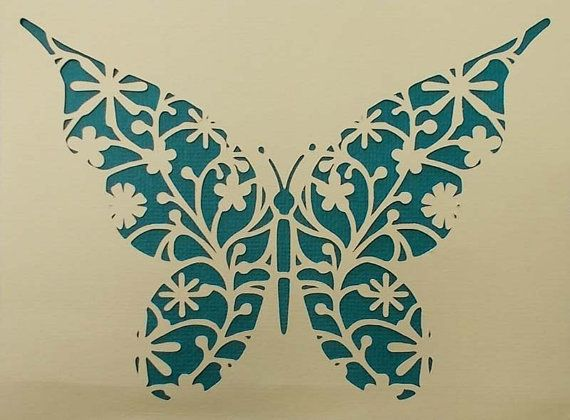 Mariposa por kraftkutz en Etsy