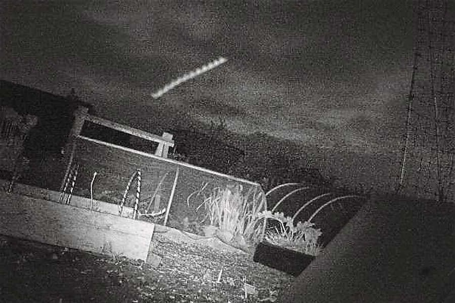 Couple Takes Photo Of Strange UFO At Low Altitude