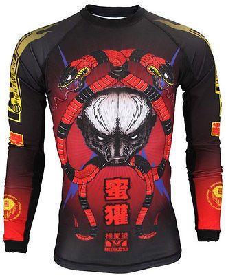 Tatami Turtle BJJ Rash Guard Long Sleeve Mens Jiu Jitsu Compression Top MMA
