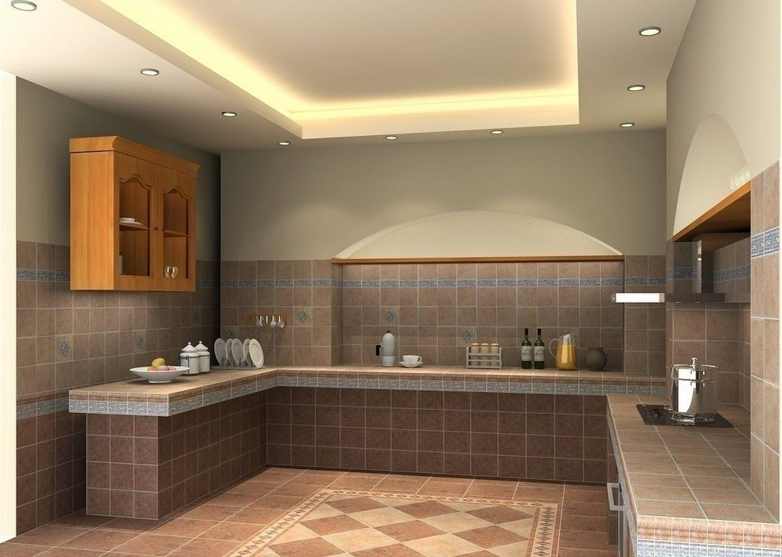 ceiling design ideas for small kitchen - 7 designs  Kitchen