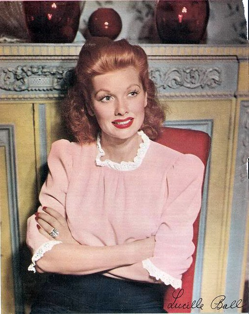 The Redhead in Pink!