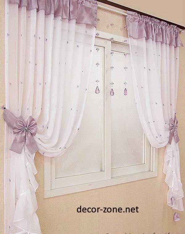Purple Kitchen Curtain Ideas