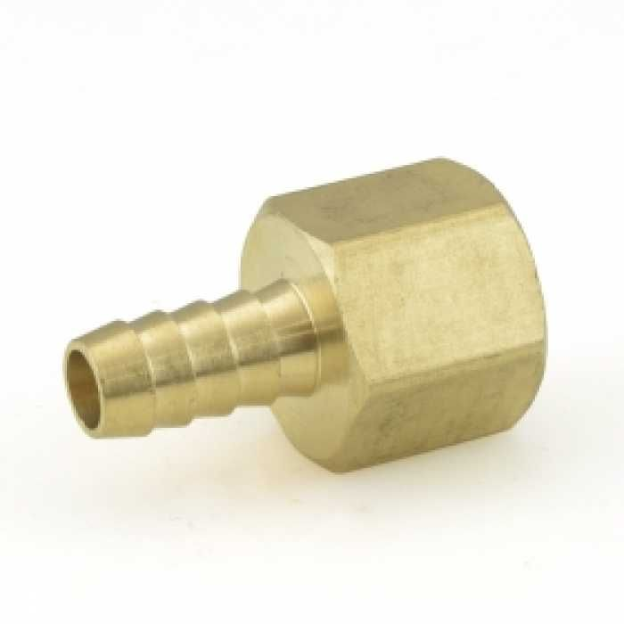 "3/8"" Hose Barb x 1/2"" FIP Brass Adapter Thread adapter"