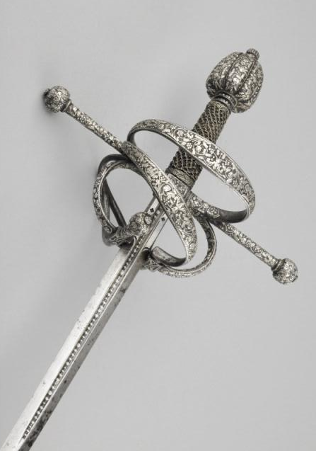 Rapier Unknown Artist / Maker Italy, possibly 1580 - 1899  c. 1590 (blade) probably 19th century (hilt)