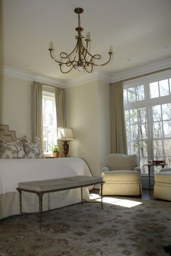 This Room Feels So Peaceful. Benjamin Mooreu0027s Featherbed Is A Similar Color  For The Paint
