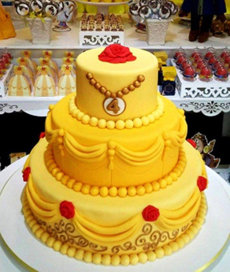 Princess Belle Birthday Party Decorations Thebeautyandthebeastideasbirthdayparty34 800×948