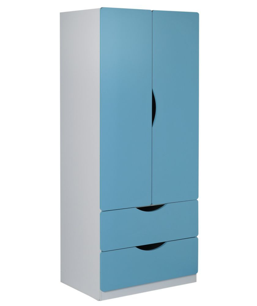 Buy Tolga 2 Door 2 Drawer Storage Unit   Blue At Argos.co.uk