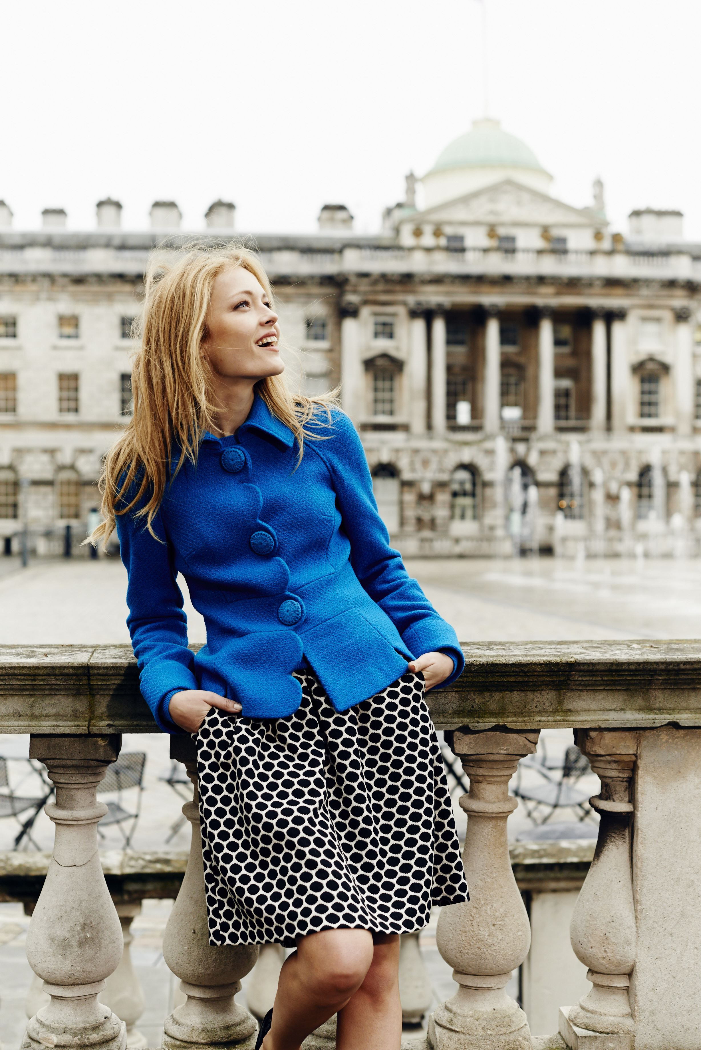 True blue. Shop with 15% off and free delivery with code PIN1 (UK) or PIN2 (US) #Boden #AW14