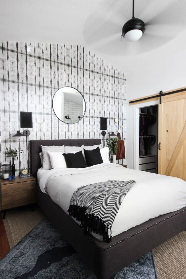 Best Master Bedroom Reveal Modern Master Bedroom Bedding 640 x 480