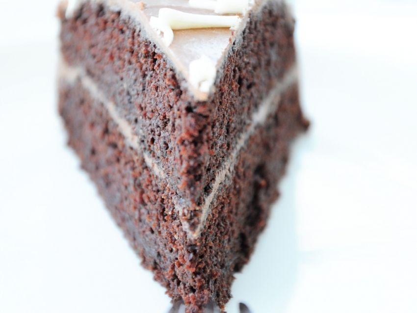 Schokoladen Zucchini Kuchen Mit Schokoladen Icing Chocolate Dreams