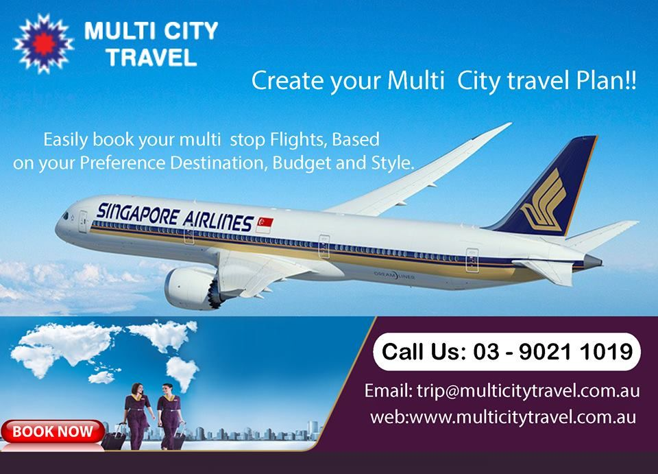 Easily book your multi stop Flights, Based on your