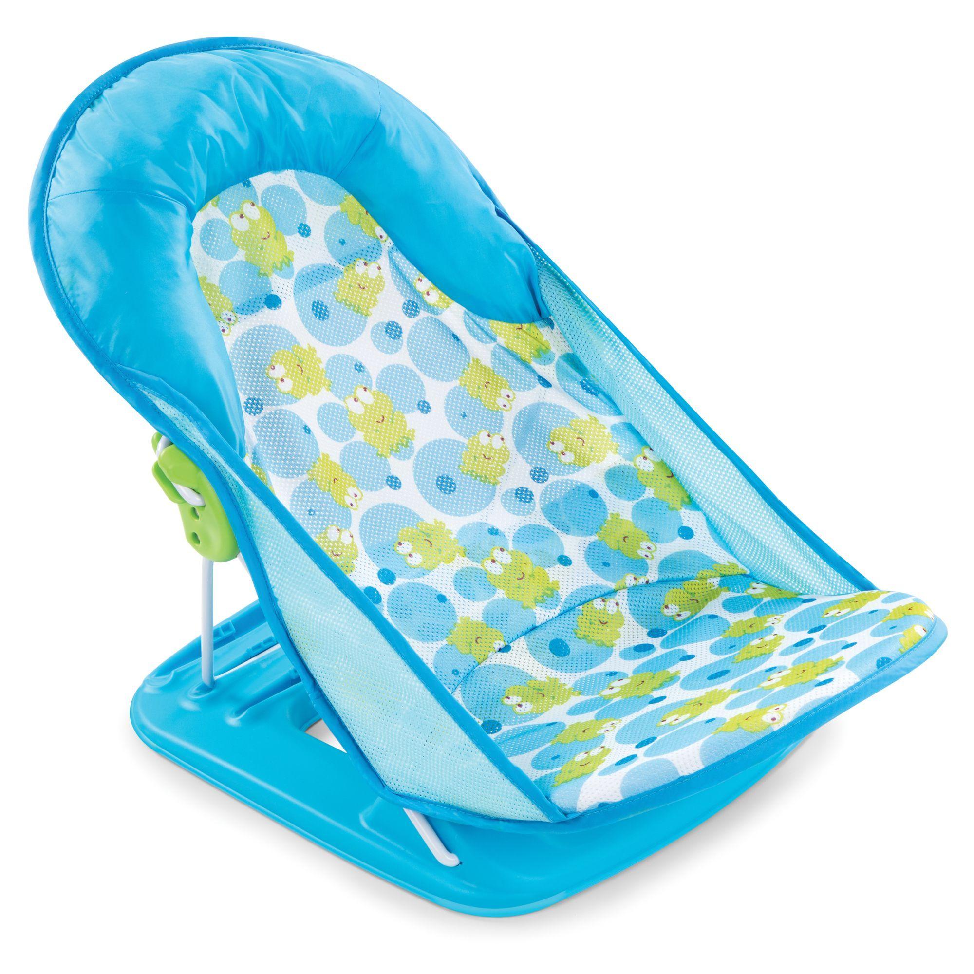 Summer Infant Deluxe Baby Bather Happy Frog | Baby bath