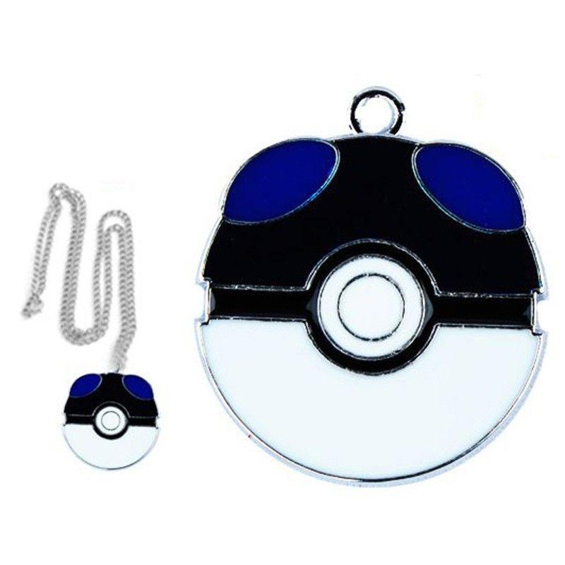 PokeBall Master - Necklace Pendant Unisex Chain Ash Ketchum