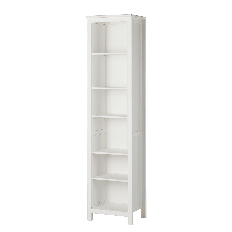 Bücherregal Karelien - Kiefer teilmassiv - Weiß - 48 cm, Maison ...