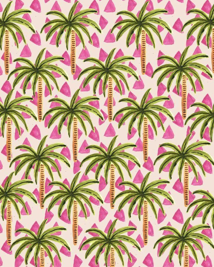 Pinterest Tropical Print Trend
