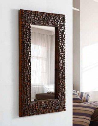 Espejos originales de pared modelo luzifer cobre for Espejos originales para salon
