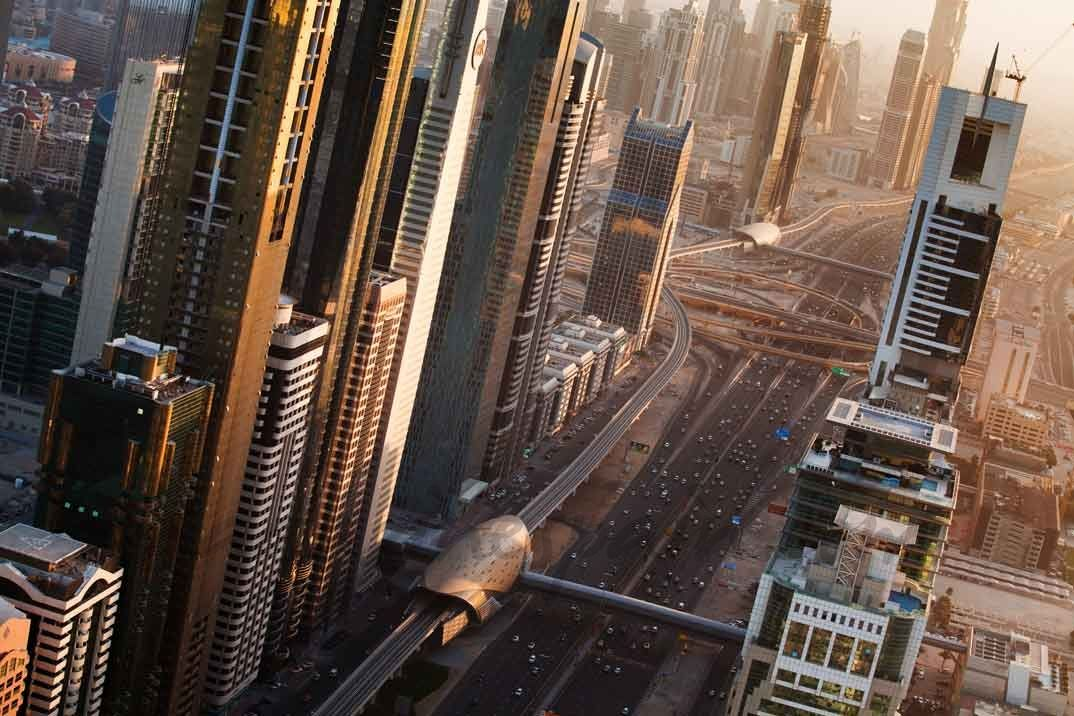 dubai united arab emirates skyscrapers 4k ultra hd wallpaper - best of blueprint capital advisors aum