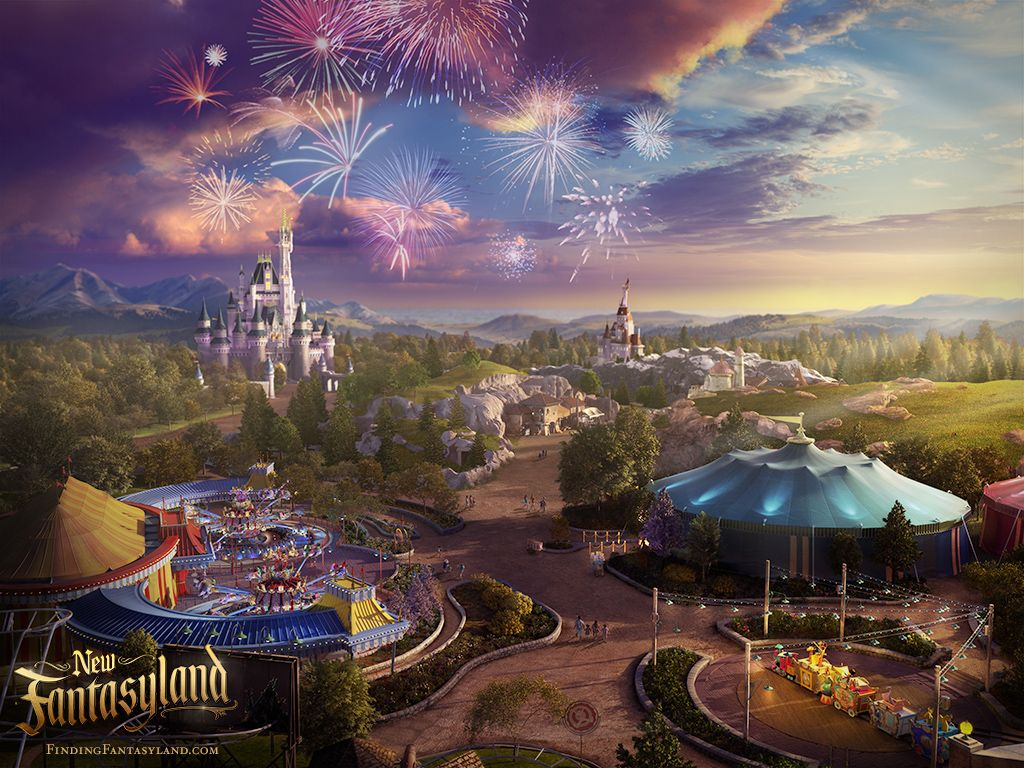 'Finding Fantasyland' at Magic Kingdom Park Desktop ...