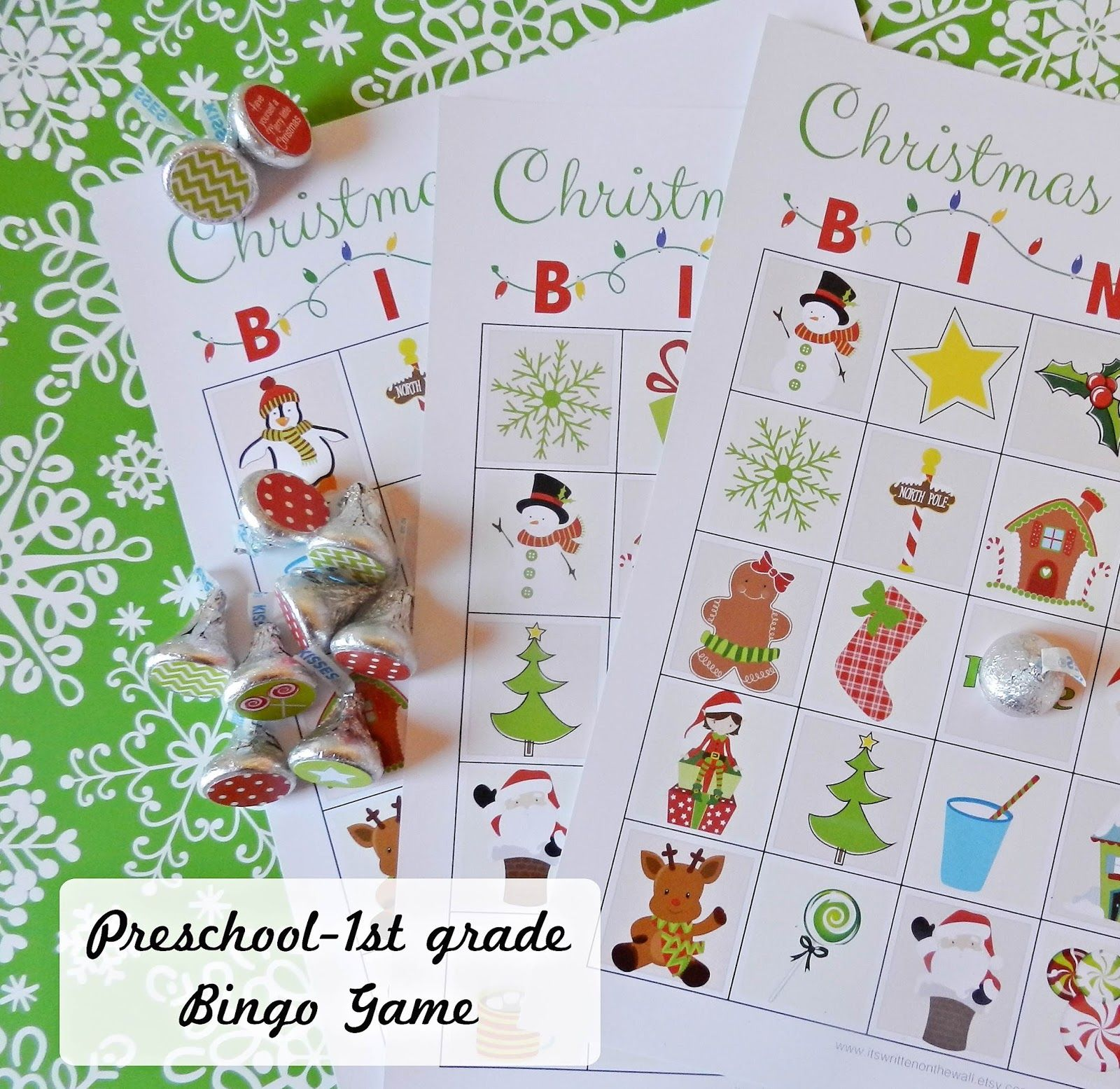 A Fun Christmas Activity For Kids Christmas Bingo Games Start A New