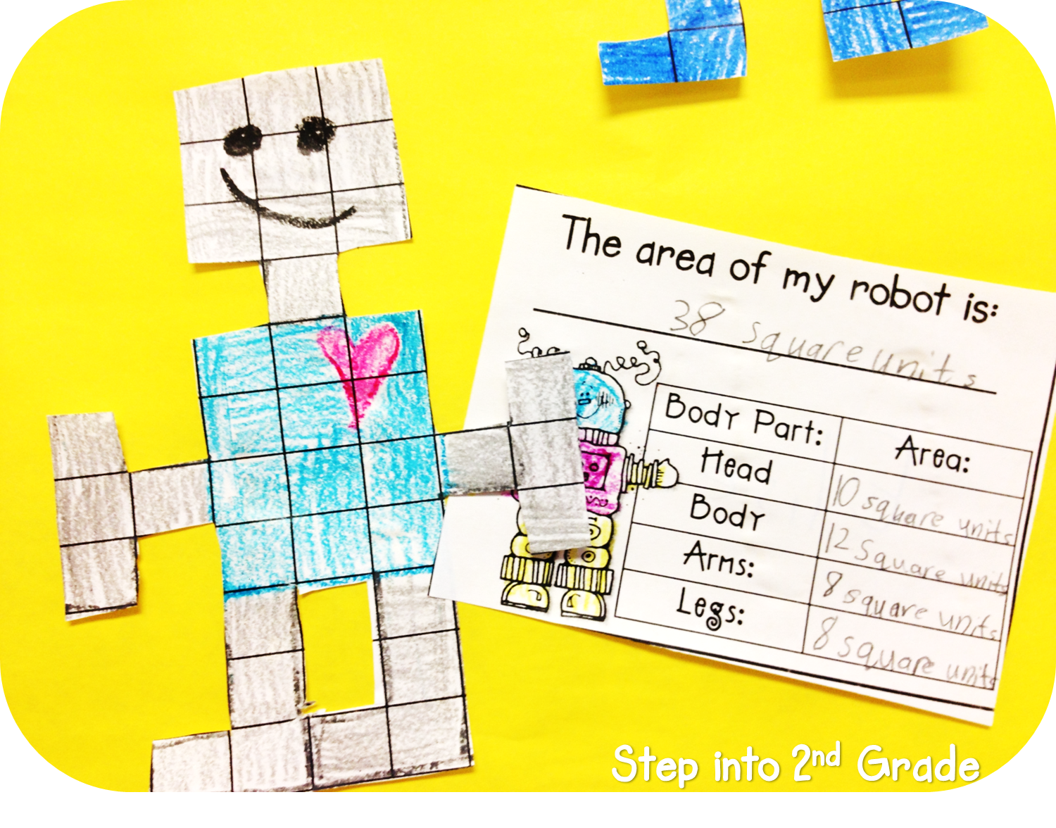 Step Into 2nd Grade With Mrs Lemons Happy Monday Area Robots
