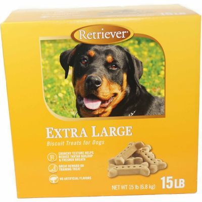 Find Retriever Extra Large Dog Biscuits 15 Lb In The Dog Treat