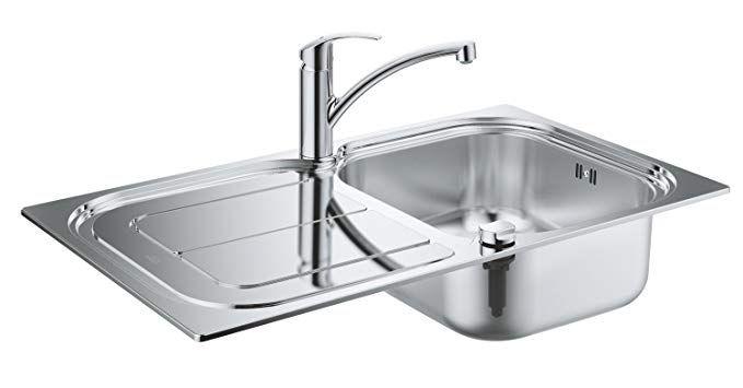 Grohe 31565SD0 Lavello Cucina, Acciaio   Offerta del Giorno ...