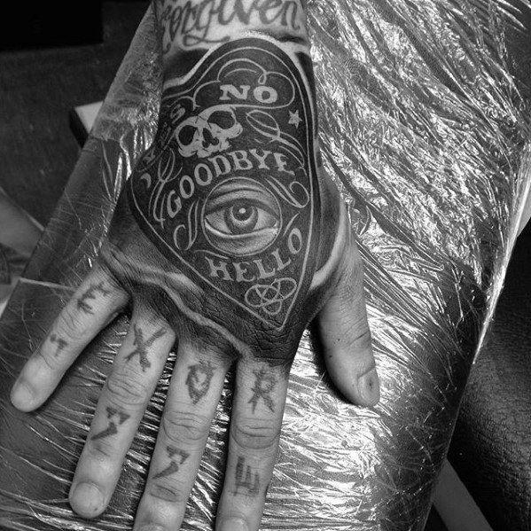 Guys Planchette Hand Tattoo Design Ideas Hand Tattoos For Guys Tattoo Design For Hand Tattoo Designs Men