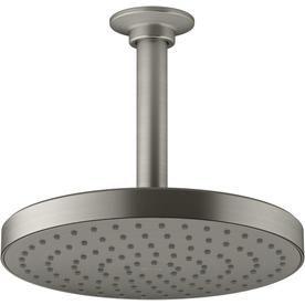 Kohler Awaken Vibrant Brushed Nickel 1 Spray Shower Head K 76464 G