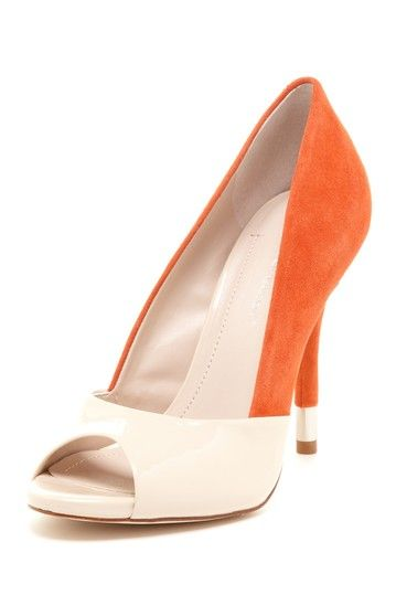 10d5fe39f12 BCBGeneration Izzie High Heel Peep Toe Pump - liking the color