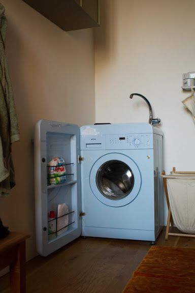 Front Loading Washer With Door Shelving Smeg Washing Machine Laundry In Bathroom