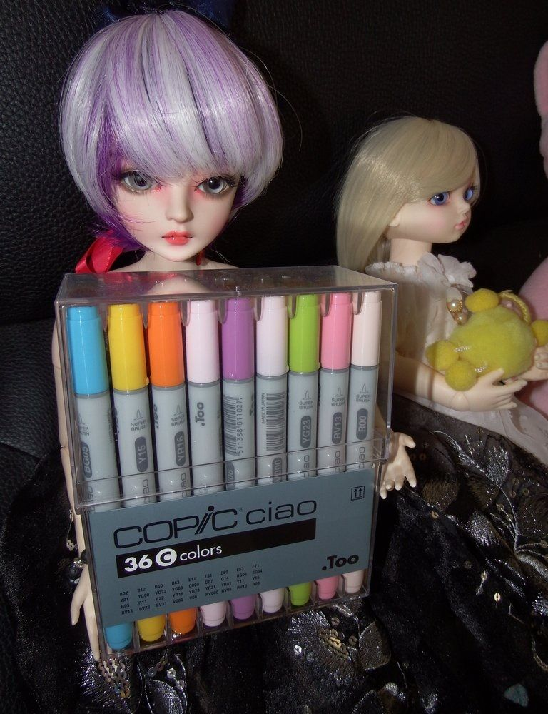 Copic I36C Ciao Markers Set C #emodresses