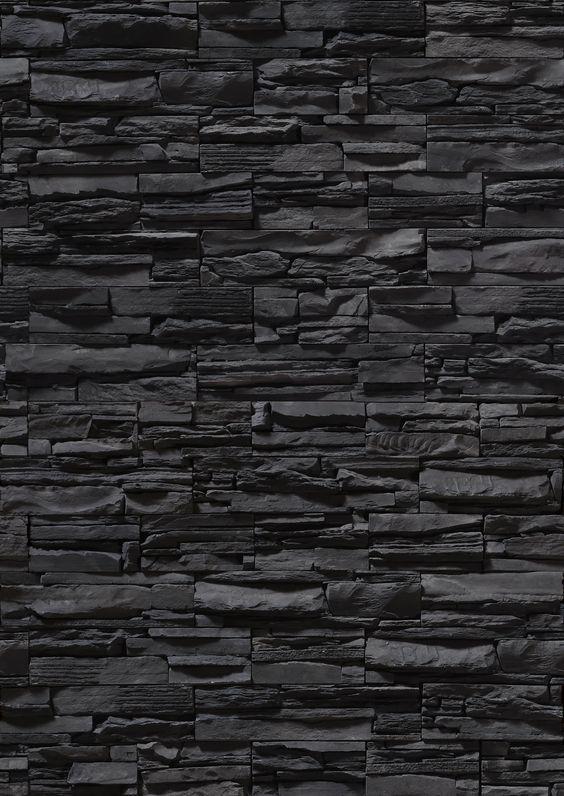 Black Brick Wall Dark Background For Design Wall Mural Textures Themed Premium Canvas Wall Art Standard P In 2021 Black Brick Wall Black Brick Wallpaper Black Brick