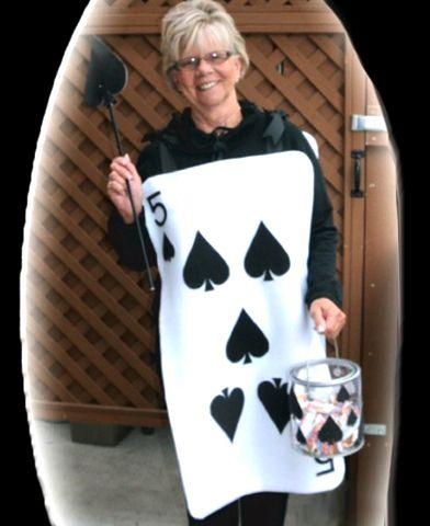Felt Halloween Playing Card Costume Free Pattern Felting Playing Card Costume Card Costume Felt Halloween