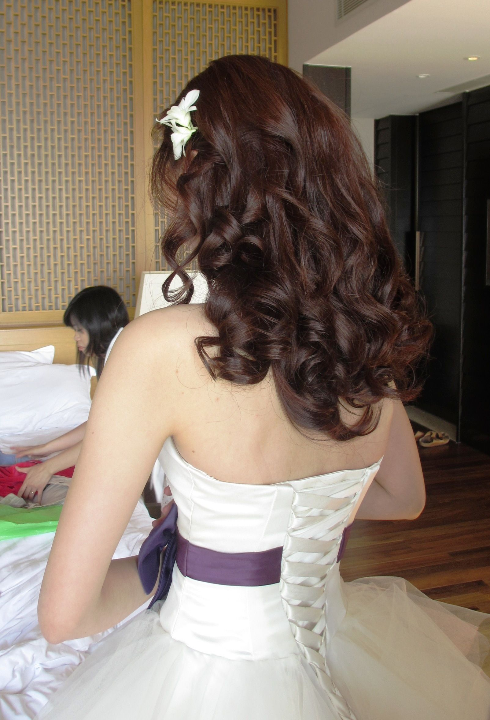Chinese And Asian Wedding Hair And Make Up Wedding Hairstyles