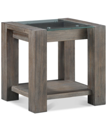 Furniture Closeout Sava End Table Created For Macy S Reviews