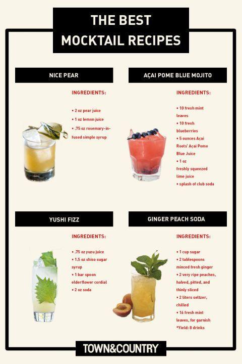 Easy Mocktail Recipes That Aren T Boring Easy Mocktail Recipes Best Mocktail Recipe Mocktail Recipe