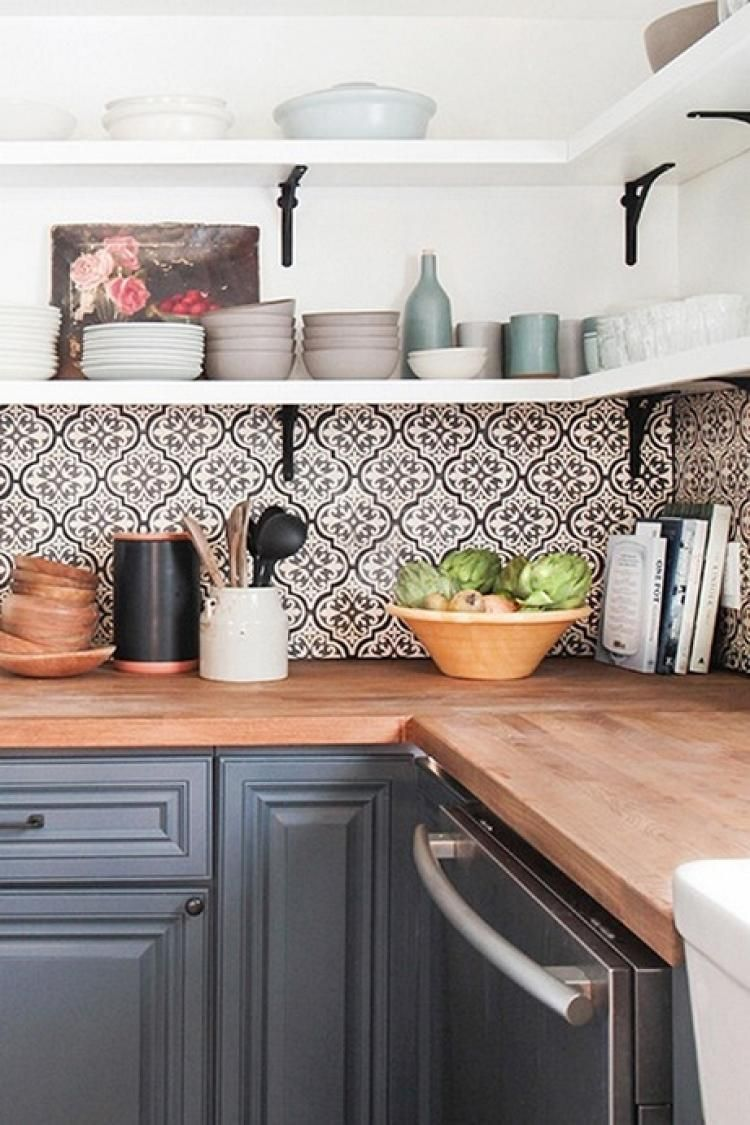 18+ Kitchen Tile Backsplash Ideas To Help You Install An Eye