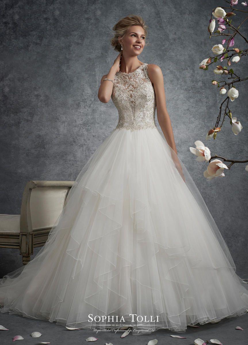 1940 wedding dress  Sophia Tolli Wedding Dresses for Mon Cheri Sophia Tolli Bridal