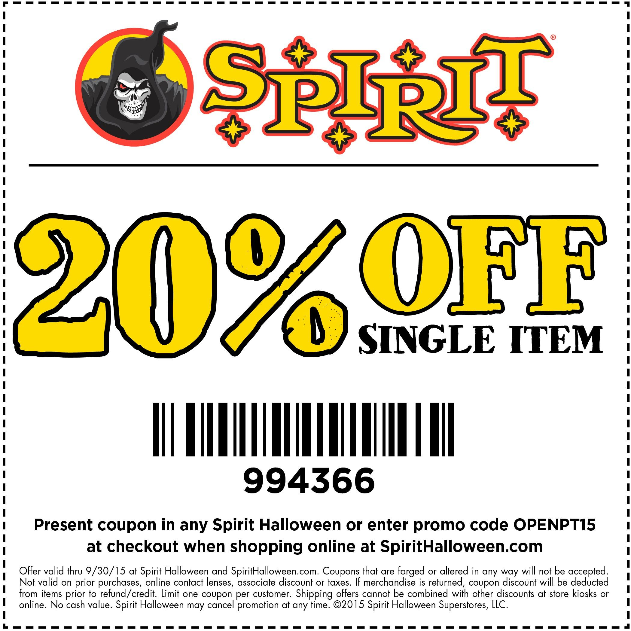 Spirit Halloween stores are now opening! Get to your