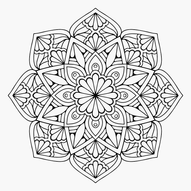 Wonderbaar Mandala Kleurplaat Hartjes Model 545 Beste Afbeeldingen Van DA-94