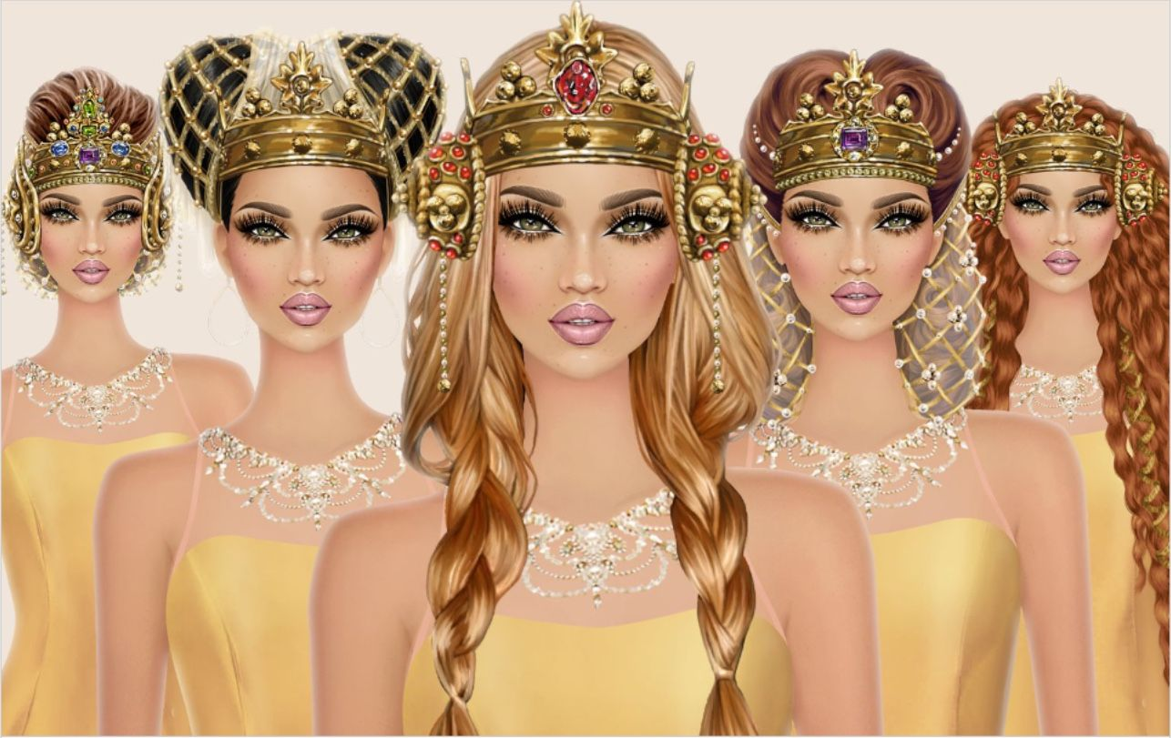Pin by Rosa on Pretty girl | Covet fashion games, Covet ...  |Pretty Girl Fashion Game