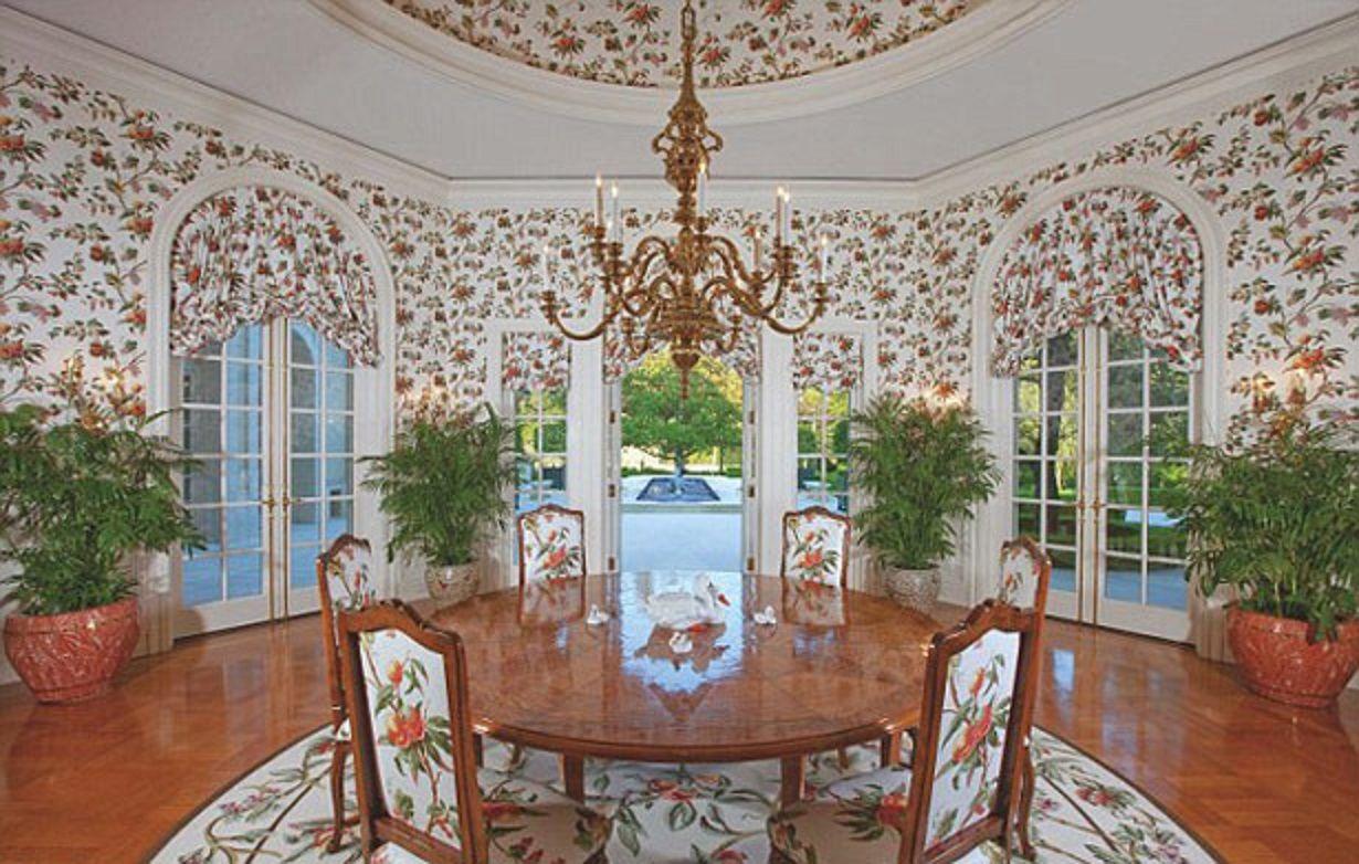 Spelling breakfast room, The Manor, Los Angeles, California   Home ...