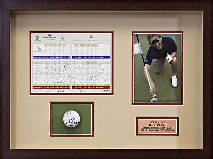 Discover Framing Examples And Ideas For Every Type Of Art Shadow Box Hole In One Photo Programs