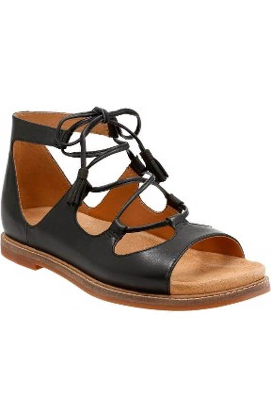 Free shipping and returns on Clarks® Corsio Bambi Strappy Sandal (Women) at Nordstrom.com. That perfect summer sandal, the one that you can pair with just about everything, that makes you feel effortlessly stylish while keeping feet comfortable—you found it.