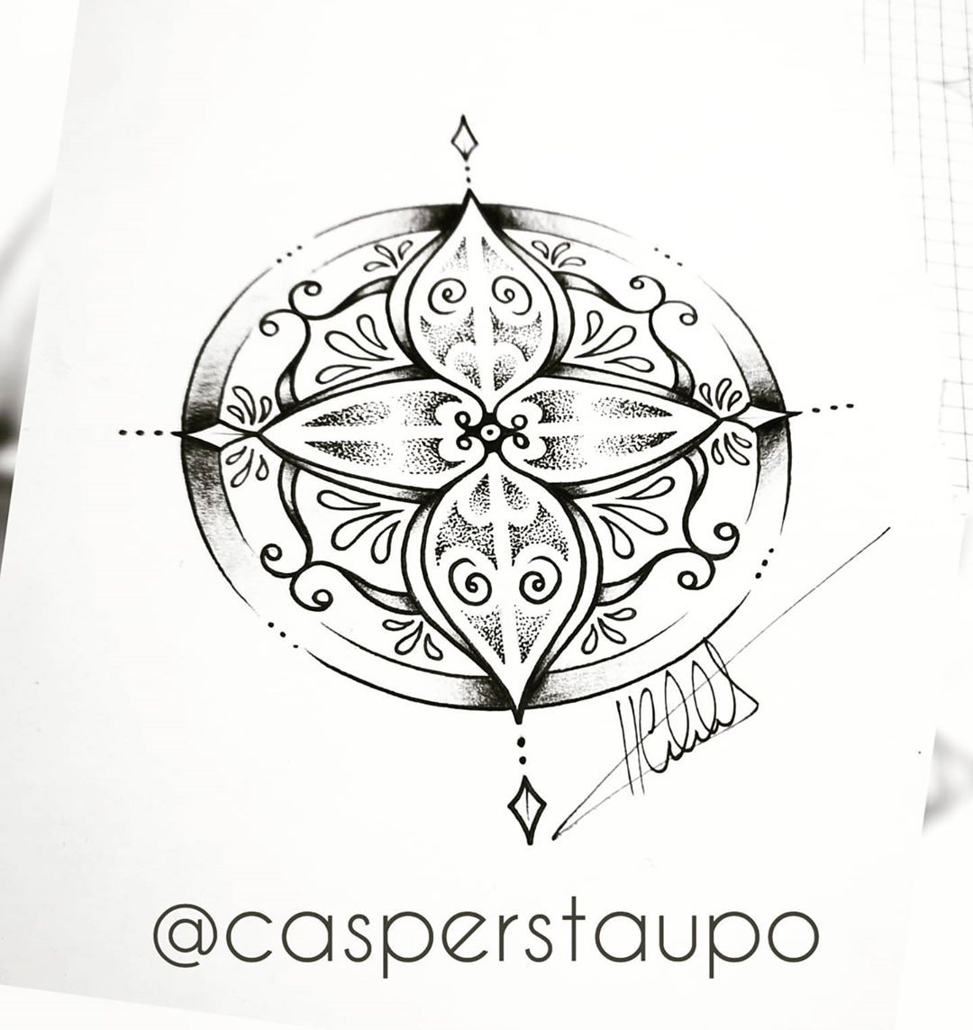 Thanks for the support guys. An enjoying the tike to draw some designs. Heres another one for sale. #covid_19 #covidchallenge #nz #inkjectanano #tatt #tattoo #tattoos #ink #mandalas #mandalatattoo #dotworktattoo #dots #dotwork #finelinetattoo #inked #mandalaart #designforsale #tattoodesigns