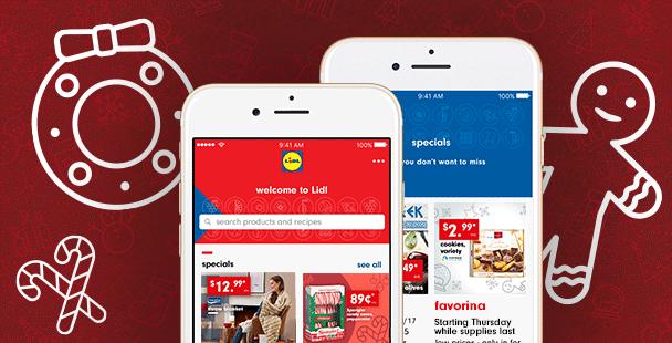 App HomeStripBanner v3 Grocery store, Lidl, App